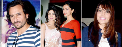 Spotted: Celebs at the premiere of Race 2
