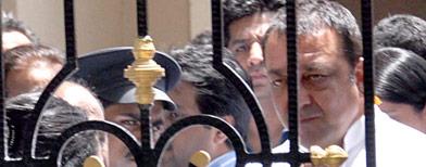 Sanjay Dutt taken to hospital