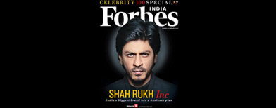 What made SRK top the Forbes list?