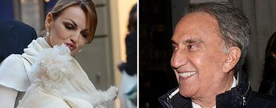 Francesca Pascale ed Emilio Fede (Kika Press)
