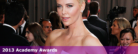 Charlize pulls off one of hardest hairdos at Oscars