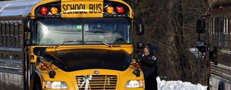 Emotional return for Sandy Hook students