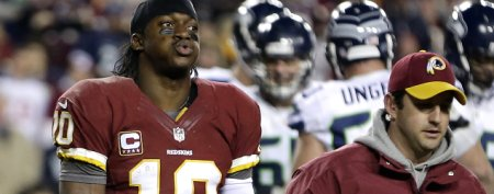 NFL coach under fire after RG3's ugly injury
