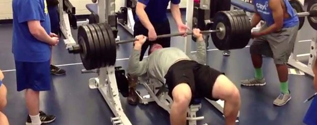braden smith bench press - photo #2