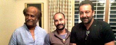When Sanjay Dutt met Rajinikanth