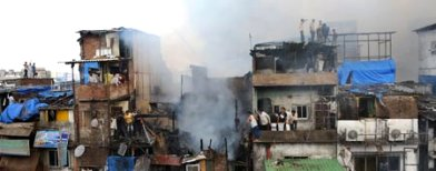 Six people burnt to death in Mumbai fire
