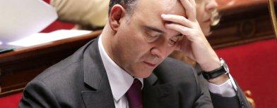 """Pour Pierre Moscovici, Christian Jacob est un """"crétin"""" Moscovici_1360150744"""