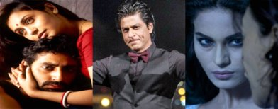 Rani, Abhishek and SRK in the news