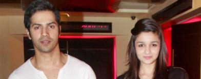 Alia Bhatt and Varun Dhawan in love