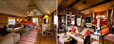 Luxurious cabins for cozy winter escapes