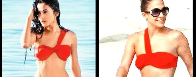 Sonal Chauhan copies JLo's bikini style?