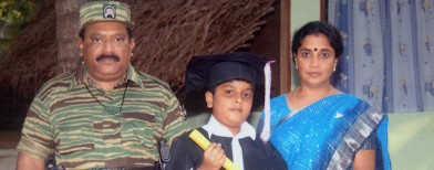 Was LTTE chief's son shot in cold blood?