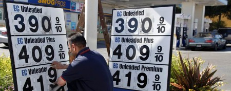 Rise in gas prices threatening economy