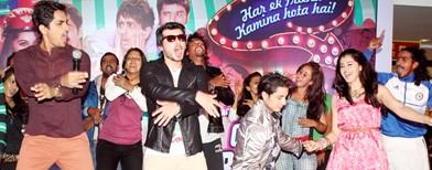 Fun at 'Chashme Baddoor' music launch