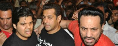 Security scare for Salman Khan