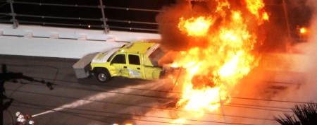 How Daytona 500 almost went up in flames