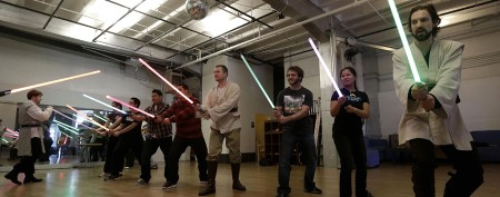 Lightsaber lessons harness the Force