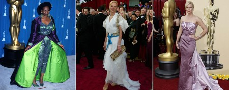 Outrageous dresses of Oscars past