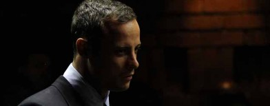 After a week, relief for Pistorius
