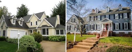 Homes in the neighborhood of $450,000