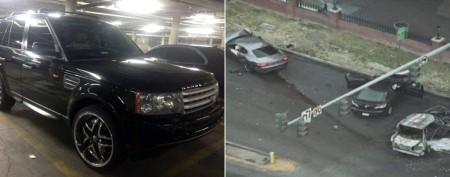 Police ID suspect in Vegas shooting, crash