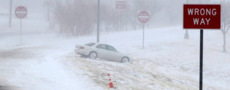 'Treacherous' new blizzard slams Plains