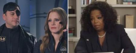 Oprah snubs Kimmel on post-Oscar show
