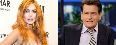 Lohan's surprising new project with Sheen