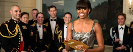Michelle Obama's surprise Oscar appearance