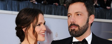 Ben Affleck lets go of good luck charm
