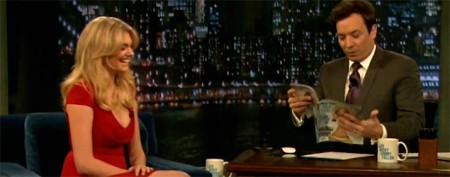 Jimmy Fallon loses cool with Kate Upton