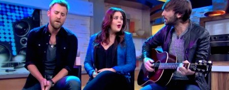 Lady Antebellum on chart-topper mysteries