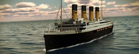 Billionaire unveils designs for Titanic II