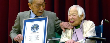 Oldest woman in the world's special diet