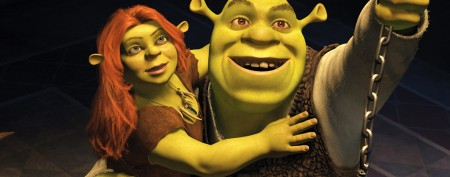 Couple goes green for 'Shrek' wedding