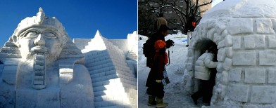 Images: Japan's amazing snow festival