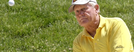 Touching reason golf legend wore yellow