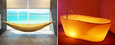Luxurious bathtubs you'll love to soak in