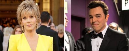 Jane Fonda slams Oscar host Seth MacFarlane