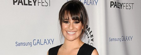 Lea Michele draws eyes in sheer peekaboo outfit