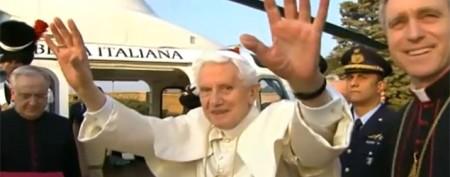 Pope Benedict bids final farewell to Vatican