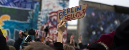 Plan for a part of the Berlin Wall sparks outcry
