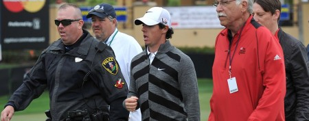 Rory McIlroy abruptly leaves tournament