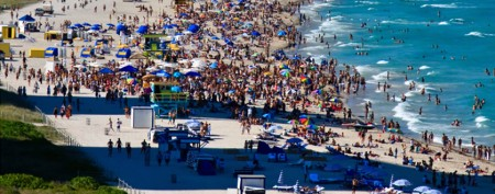 Spring break's most crowded destinations