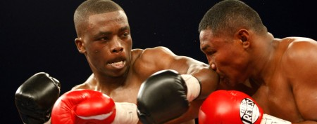 Boxer's unforgettable entry into ring