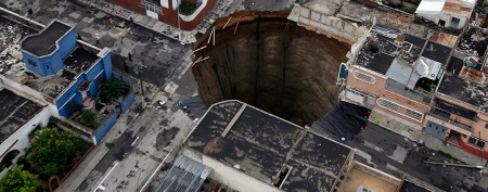 Five little-known facts about sinkholes