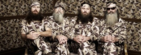 'Duck Dynasty' guys before the beards
