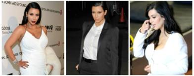 Kim K's daring pregnancy wardobe