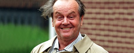 Celeb's spot-on Nicholson impersonation