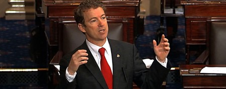 Paul goes old-school with 13-hour filibuster